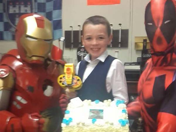 Ironman Deadpool party