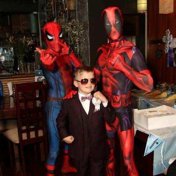 Spiderman Deadpool party